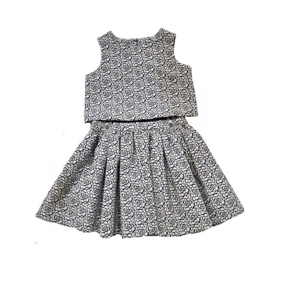 Pippa & Julie Other - NEW Pippa & Julie 2pc Navy Girls Skirt Outfit 4 6X